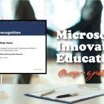 Microsoft Innovative Educator - Curso gratuito
